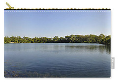 Carry-all Pouch featuring the photograph Lake Victory by Verana Stark