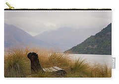 Lake Wakatipu Bench Carry-all Pouch by Stuart Litoff