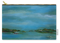 Lake Wallenpaupack Early Morning Carry-all Pouch by Judith Rhue