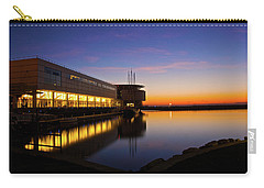 Lakefront Sunrise Carry-all Pouch by Jonah  Anderson