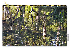 Carry-all Pouch featuring the photograph Lakeshore Reflections by Kate Brown