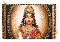 Lakshmi Goddess Of Abundance Carry-all Pouch
