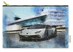 Lamborghini Huracan Carry-all Pouch by Mario Carini