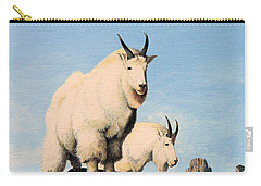 Lamoille Goats Carry-all Pouch