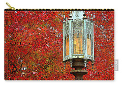 Lamp Post In Fall Carry-all Pouch