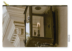 Carry-all Pouch featuring the photograph Lamp Unto My Feet by Sennie Pierson