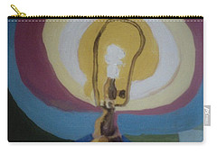 Lamp Without A Shade Carry-all Pouch
