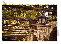 Lamps At The Alamo Carry-all Pouch by Melinda Ledsome