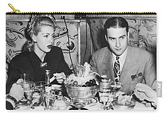 Lana Turner And Artie Shaw Carry-all Pouch