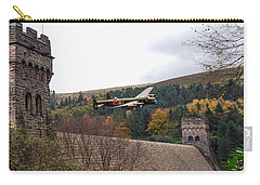 Lancaster Kc-a At The Derwent Dam Carry-all Pouch