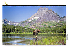 Land Of The Moose Carry-all Pouch by Jack Bell