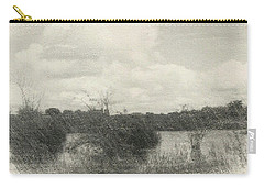 Landscape In Patches Carry-all Pouch
