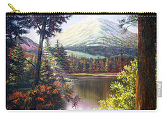 Landscape-lake And Trees Carry-all Pouch