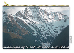Landscapes Of Great Wonder  Carry-all Pouch