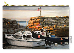 Lanes Cove Fishing Boats Carry-all Pouch