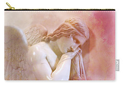 Carry-all Pouch featuring the photograph L'angelo Celeste by Micki Findlay