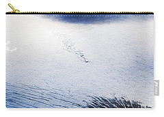 Carry-all Pouch featuring the photograph Langjokull by Gunnar Orn Arnason