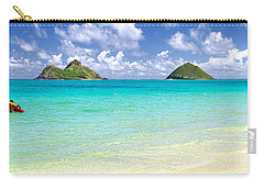 Lanikai Beach Paradise 3 To 1 Aspect Ratio Carry-all Pouch