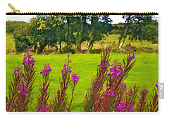 Lanna Fireweeds County Clare Ireland Carry-all Pouch