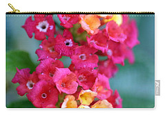 Carry-all Pouch featuring the photograph Lantana by Henrik Lehnerer