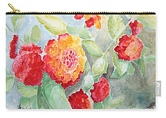 Lantana II Carry-all Pouch by Marilyn Zalatan