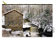 Lanterman's Mill In Winter Carry-all Pouch