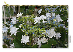 Carry-all Pouch featuring the photograph Shooting Star Bouquet by Jeannie Rhode