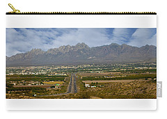 Las Cruces New Mexico Panorama Carry-all Pouch by Jack Pumphrey