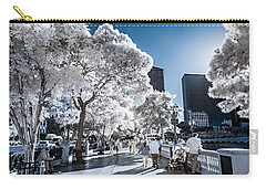 Las Vegas Strip In Infrared 1 Carry-all Pouch