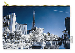Las Vegas Strip In Infrared 2 Carry-all Pouch