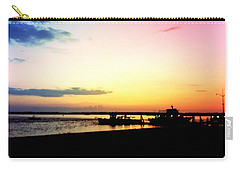 Carry-all Pouch featuring the photograph Last Light by Denyse Duhaime