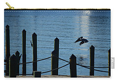 Last Light Flight Carry-all Pouch by Susan Molnar