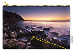 Carry-all Pouch featuring the photograph Last Ray by Mihai Andritoiu