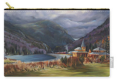 Last Train To Crawford Notch Depot Carry-all Pouch by Nancy Griswold