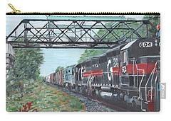 Last Train Under The Bridge Carry-all Pouch