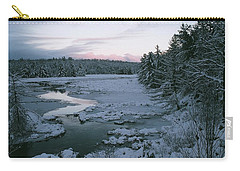 Carry-all Pouch featuring the photograph Late Afternoon In Winter by David Porteus