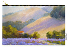 Late June Hills And Lavender Carry-all Pouch