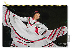 Latin Dancer Carry-all Pouch by Marisela Mungia