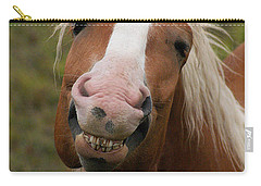 Laughing Smiling Happy Horse Carry-all Pouch