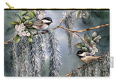 Laurel Meets Moss Carry-all Pouch
