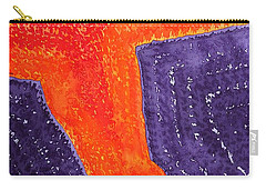 Lava Flow Original Painting Carry-all Pouch