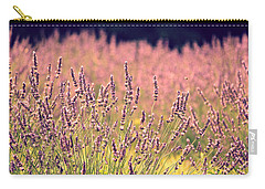 Carry-all Pouch featuring the photograph Lavender Dreams by Lynn Sprowl
