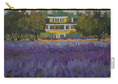 Lavender Farm On Vashon Island Carry-all Pouch