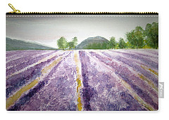 Lavender Fields Tasmania Carry-all Pouch