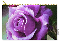 Lavender Lady Carry-all Pouch by RC deWinter