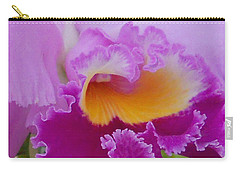 Carry-all Pouch featuring the photograph Lavender Orchid by Aimee L Maher Photography and Art Visit ALMGallerydotcom