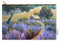 Lavender Path Carry-all Pouch