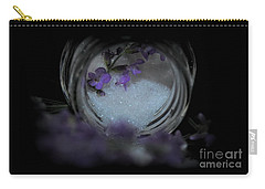 Carry-all Pouch featuring the photograph Lavender Sugar by Marija Djedovic