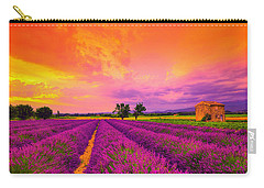 Lavender Sunset Carry-all Pouch