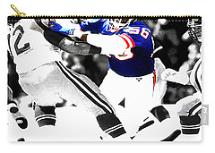 Lawrence Taylor Out Of My Way Carry-all Pouch by Brian Reaves